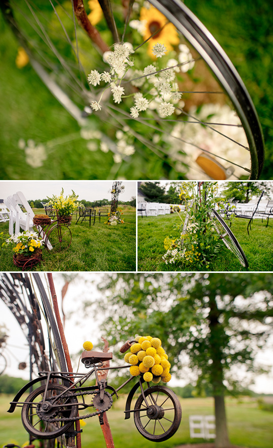 A Bicycle Wedding Theme