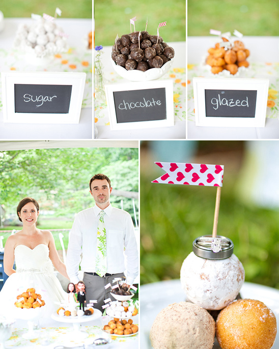 DIY Backyard Wedding Decorations