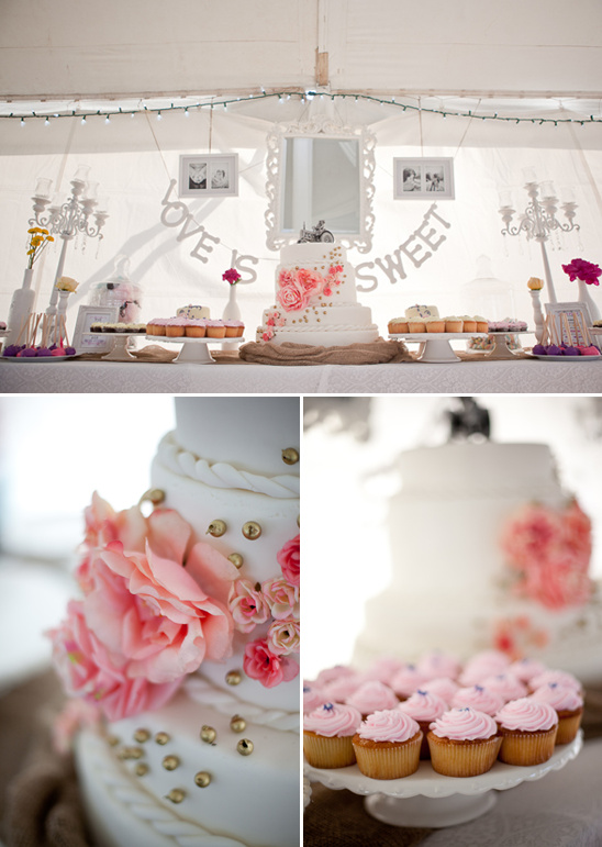 Vintage Chic Wedding Decor