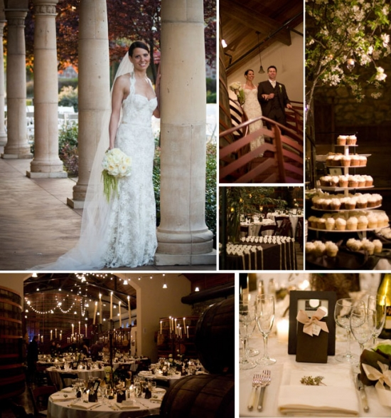 Northern California Wedding Venues at Sebastiani Winery with I Do Venues