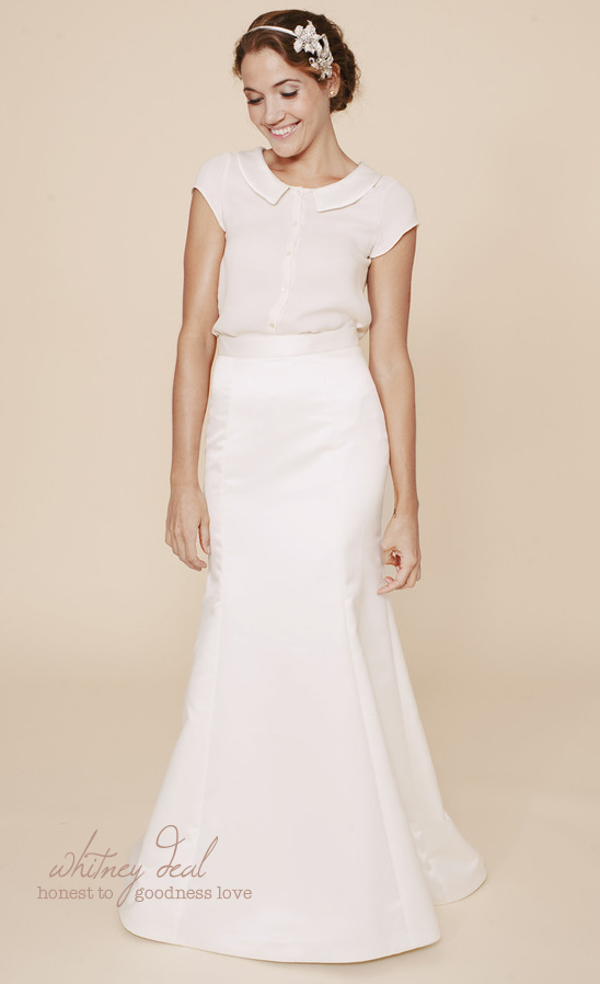 Simple Wedding Dresses By Whitney Deal