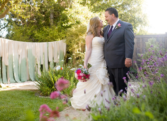Old Fashioned Garden Wedding