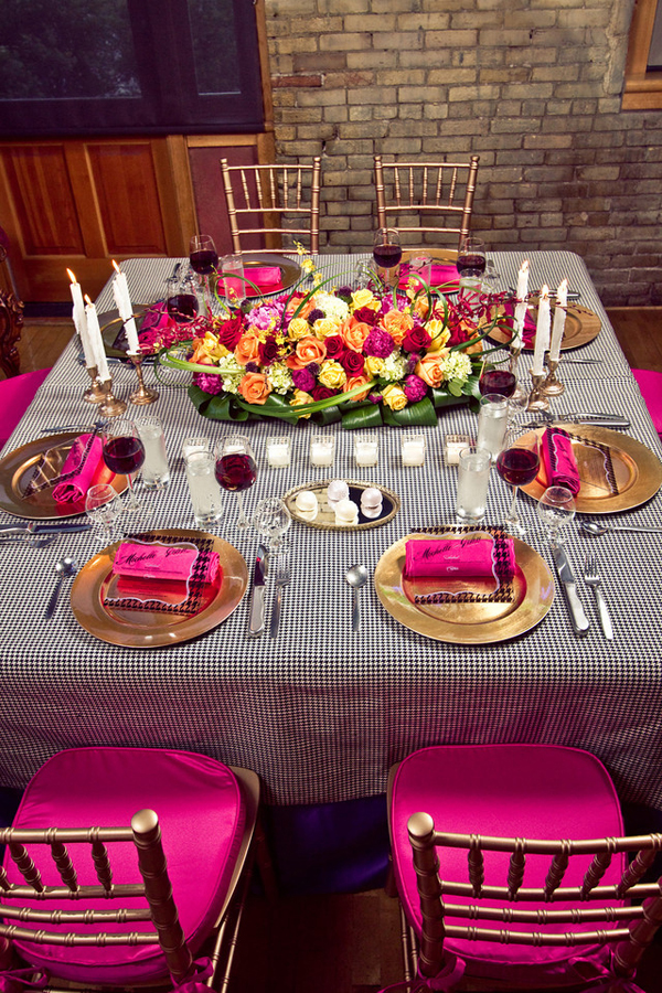 Gallery Pink And Gold Wedding Decor
