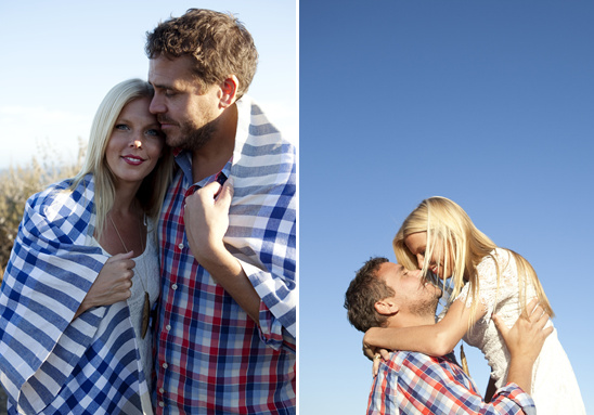 Anniversary Shoot At El Capitan Beach