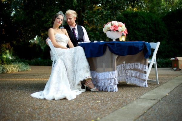 Navy And Pink Wedding Ideas