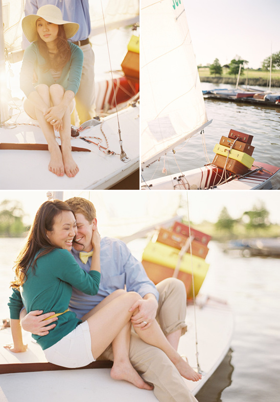 A Travel Themed Engagement Session