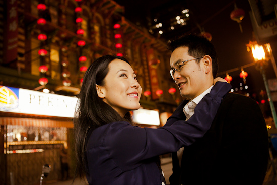 Chinatown San Francisco Engagement Photography by Dobrin Weddings