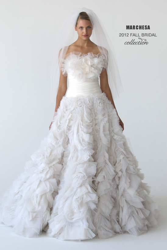 Marchesa Bridal Fall 2012