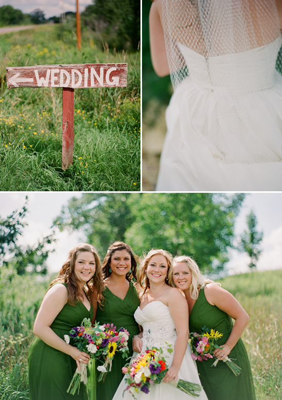 Wisconsin Barn Wedding At The Enchanted Barn