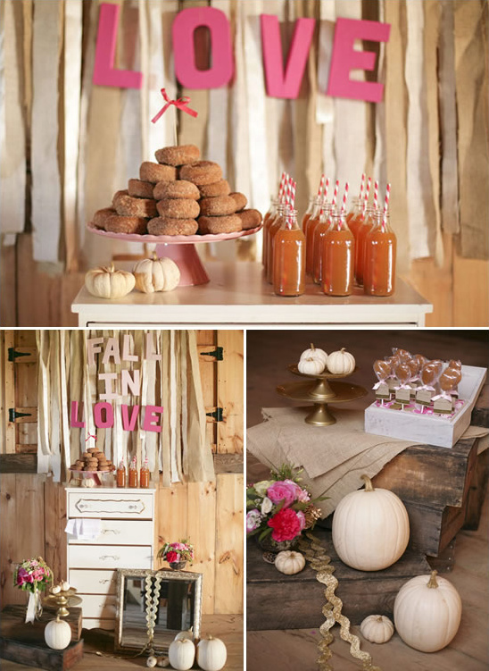 Glamorous Fall Wedding Ideas