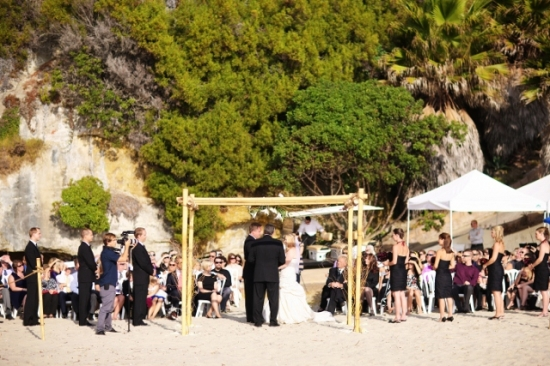 Private Estate Wedding in Laguna Beach with White Orchid Productions