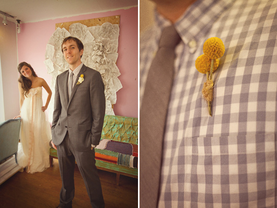 Handmade Anthropologie Wedding