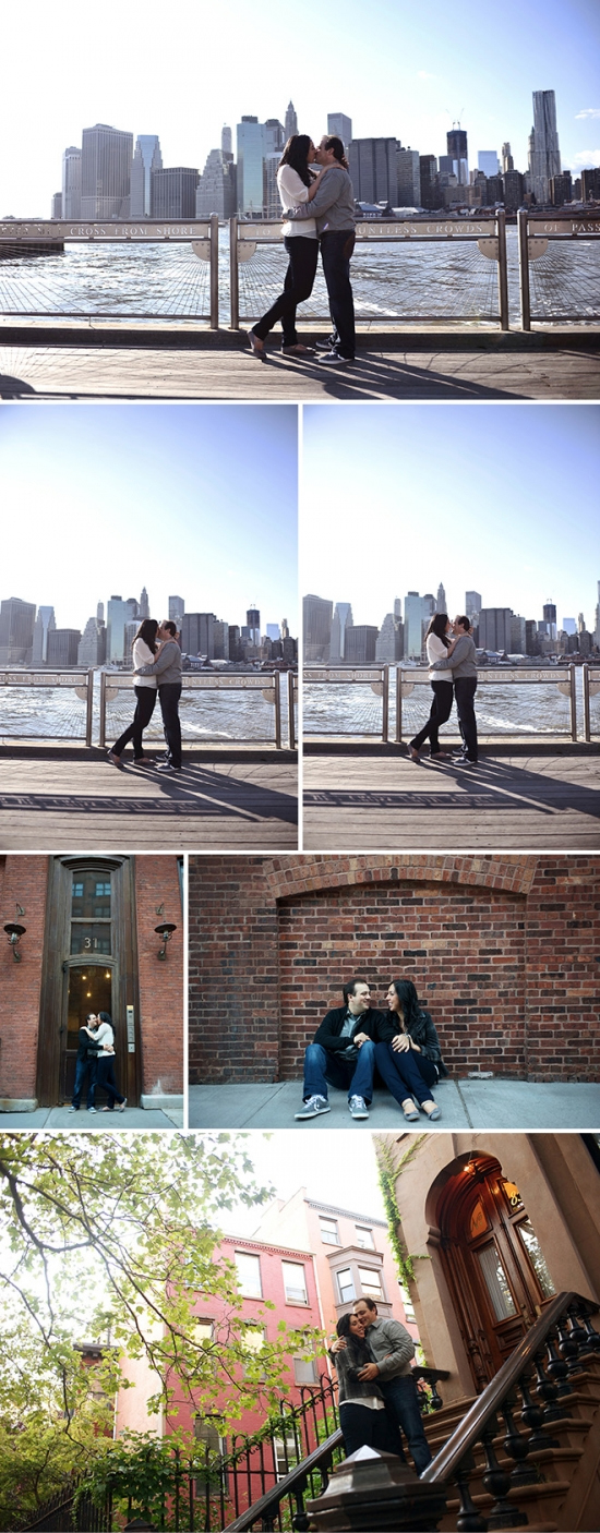 NYC Engagement Photography with Andrea & Marcus | Alex & Brian In Love