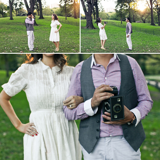 Vintage Engagement Photo Session