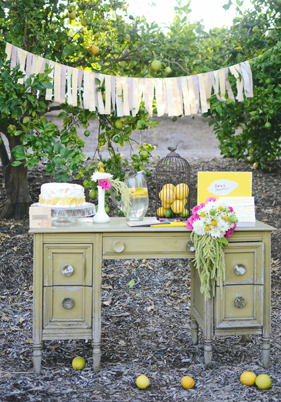 Rustic Yellow Wedding Ideas