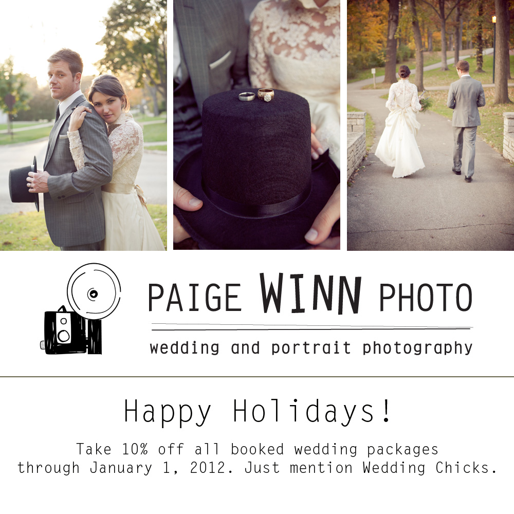 Holiday Discount from Paige Winn Photo