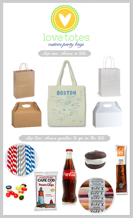 Custom Party Bags From Love Totes