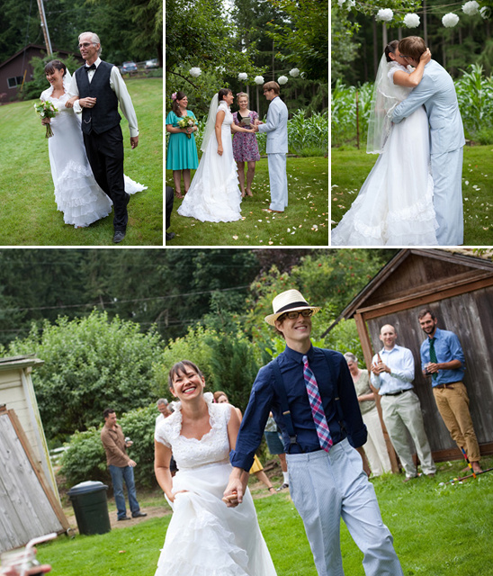 Old Fashioned Hoedown Wedding