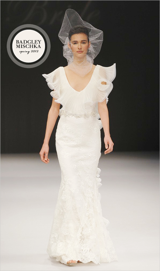 Badgley Mischka Bridal Spring 2012