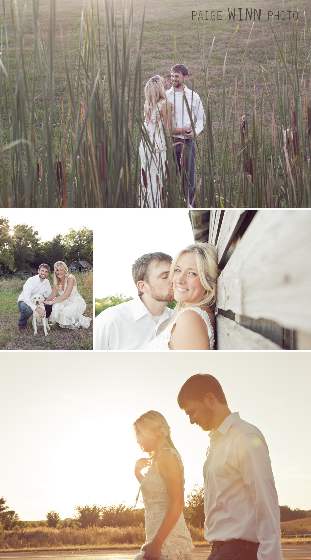 Rustic Newlywed Session by Paige Winn Photo