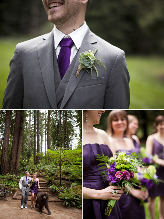 Rustic Purple Wedding Ideas