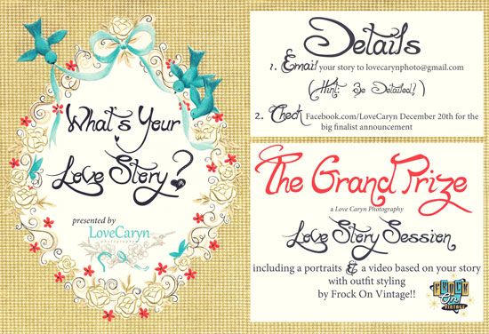 Love Caryn Photography Texas Love Story Competition!