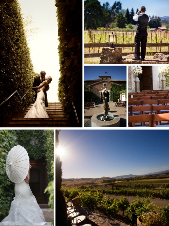 Wine Country Wedding Venues: Viansa Winery A Sonoma Classic