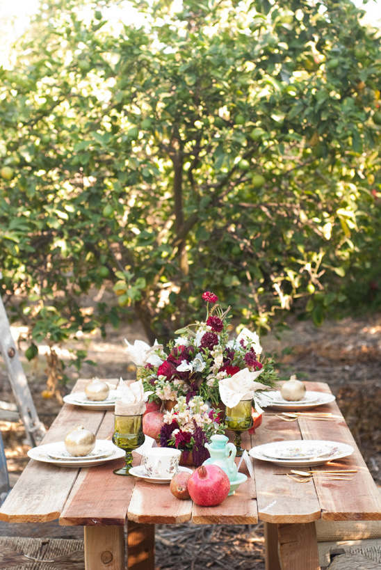 Pomegranate Wedding Ideas