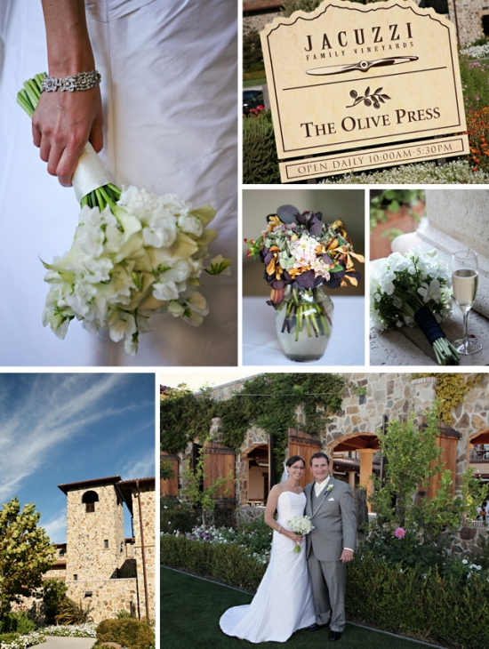 Wine Country Wedding Venues: Jacuzzi Family Vineyards