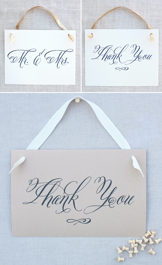 Blog - Free Wedding Signs