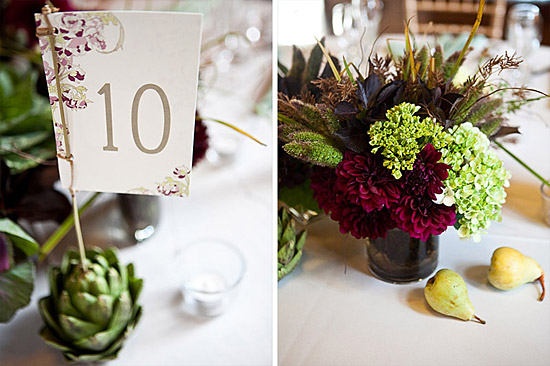 Vintage Wedding Inspired by the Sixties | Vegetarian and Green Wedding