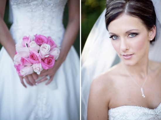 Elegant, Dust Rose Pink Wedding by Heather Elizabeth Photography