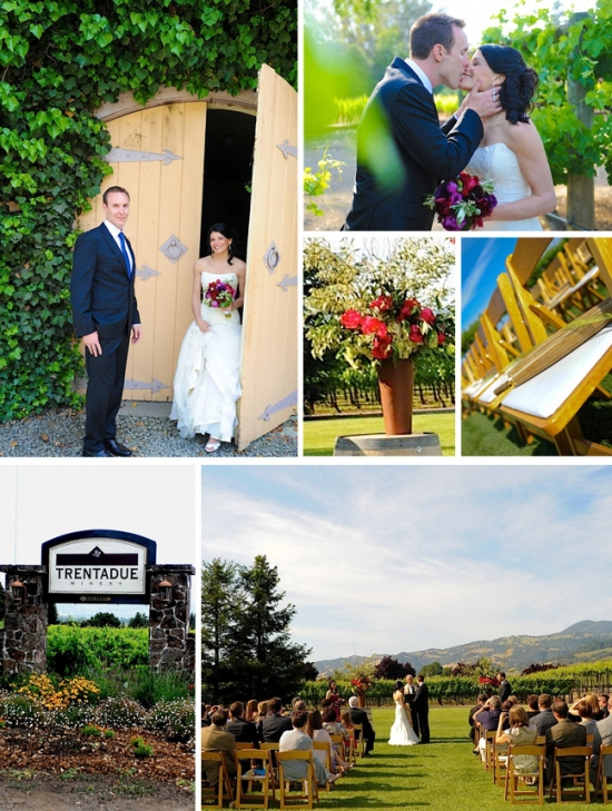 Wine Country Wedding Venue:Trentadue Winery ~ Planning the Perfect Ceremony