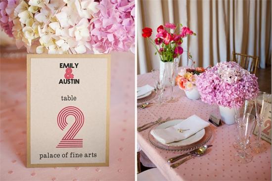 Candy & Pink Balloons | Mad Men | Sixties Vintage Wedding Inspiration