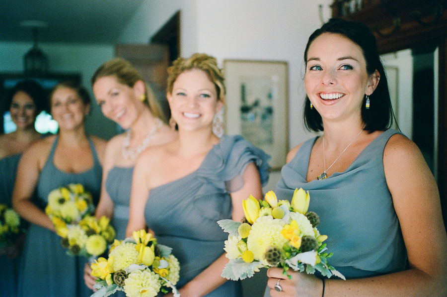 A DIY wedding in the hills of Angwin, California