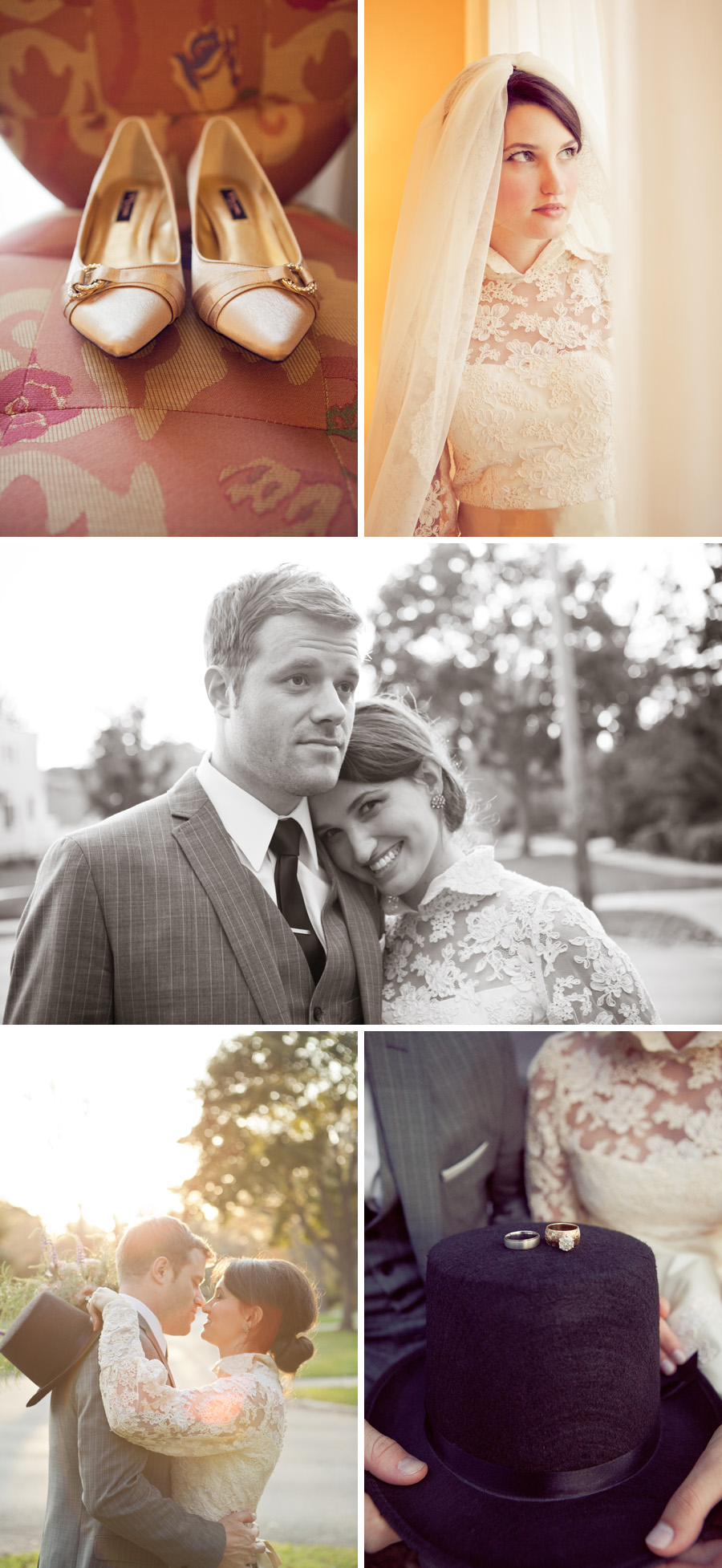 Vintage Eclectic Wedding by Paige Winn Photo
