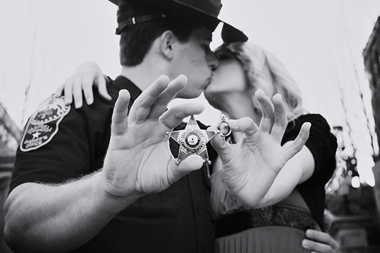 An Officer & A Gentleman Inspired E Session