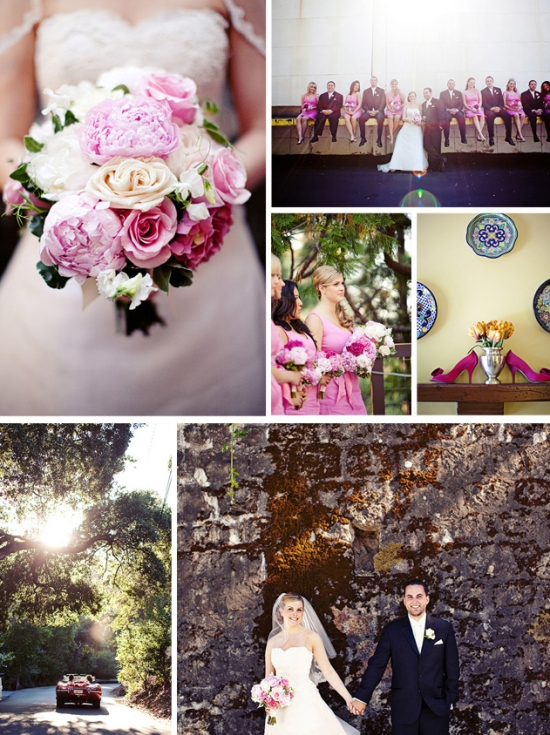 Wine Country Wedding: Testarossa Winery Brighten Your World With Color