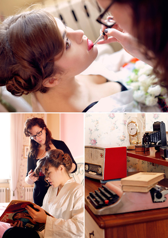 Vintage Italian Inspirational Wedding Shoot