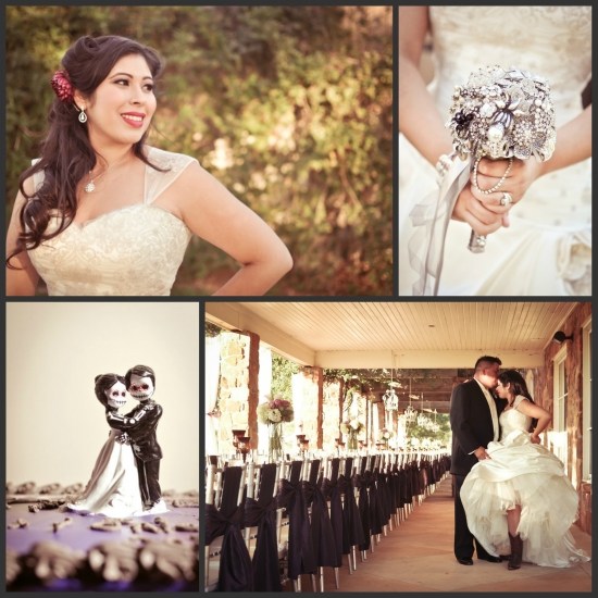 A Brooch Bouquet for a Texas Bride