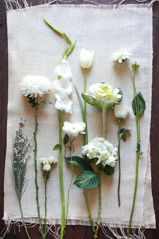 White wedding flower guide mightylinksfo
