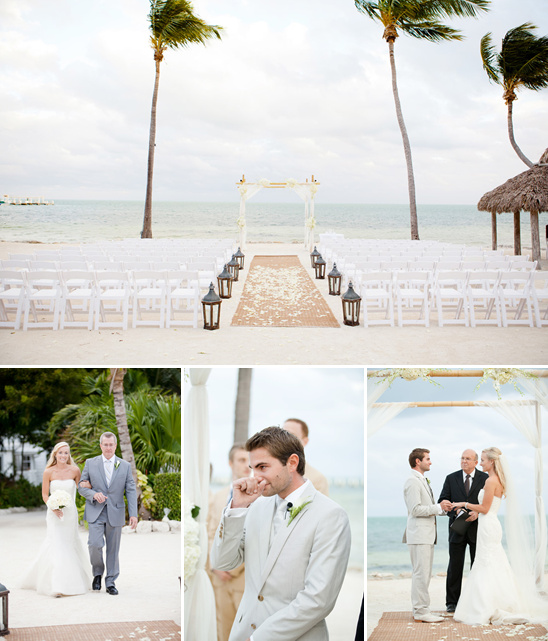 Elegant Islamorada Beach Wedding