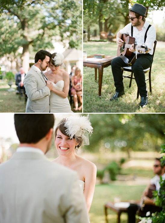 Backyard Southern Wedding