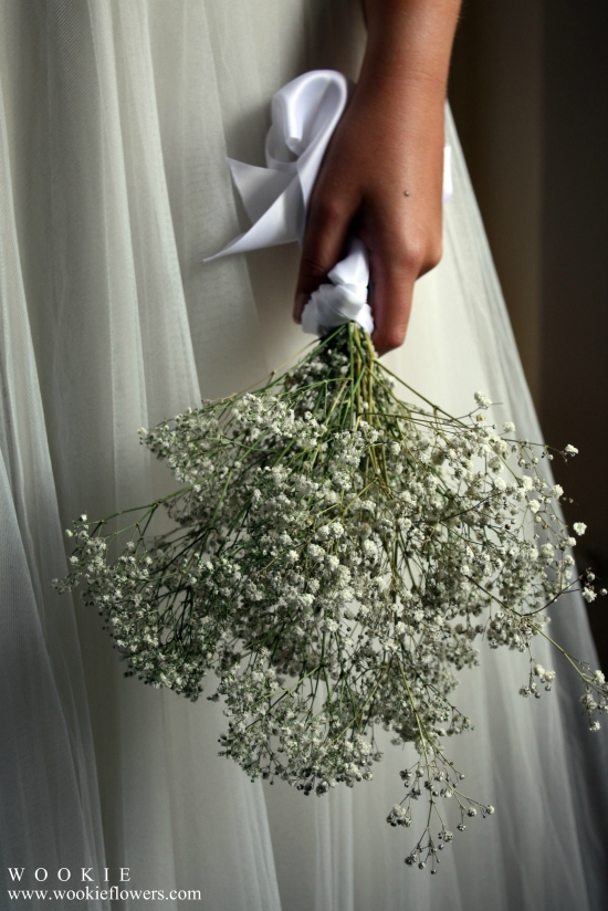 Gypsophila/ Baby's Breath bouquets