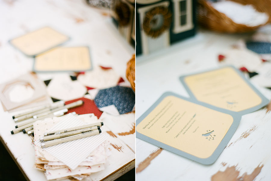 Bird themed, rustic ranch wedding in California