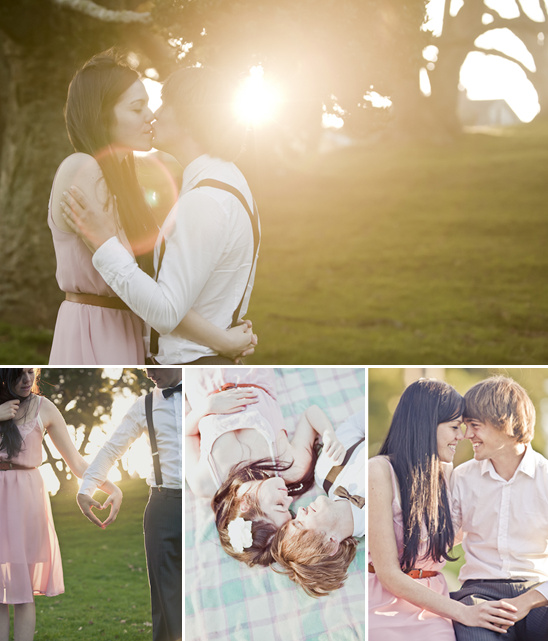 Engagement Shoot At Waikato Farm In New Zealand