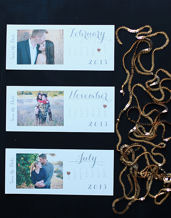 2013 Free Printable Save The Date Cards