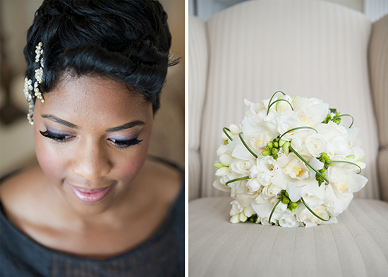 Vintage, Glam Brooklyn Wedding