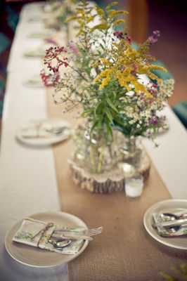 Crafty Camping Wedding