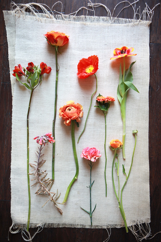 Orange Wedding Flower Guide